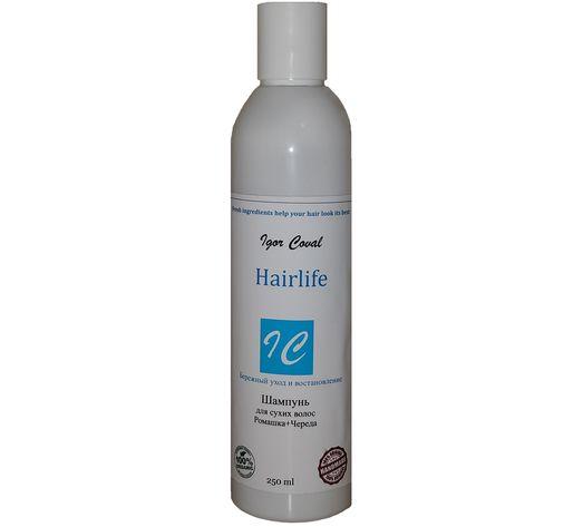 Шампунь Hairlife  для сухих волос Ромашка+Череда